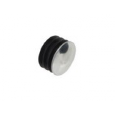 Chromium-plated plug d 28 mm