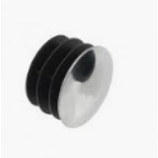 Chromium-plated plug d 30 mm