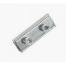 """""""Plate type"""" clamp double screws"""