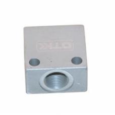 Brake pipe's AL mitnector