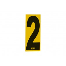 Number Sticker 2