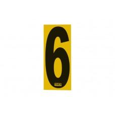 Number Sticker 6