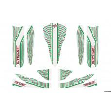 M5 BODYWORKS' STICKER KIT 950MM WHEELBASE