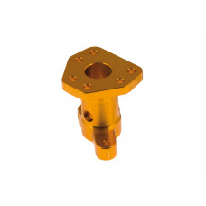AL steering wheel hub - 6 holeswith clutch lever support - 6 holes