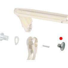 Pivot for pedal adjustment